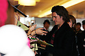 Orlando Bloom arrives in Japan