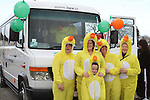 IWA Ducks, Mary T, Mary K, Bernie, Noeleen and Conor at the 2011 St.Patrick's Day Parade in Drogheda...(Photo credit should read Jenny Matthews/www.newsfile.ie)....This Picture has been sent you under the conditions enclosed by:.Newsfile Ltd..The Studio,.Millmount Abbey,.Drogheda,.Co Meath..Ireland..Tel: +353(0)41-9871240.Fax: +353(0)41-9871260.GSM: +353(0)86-2500958.email: pictures@newsfile.ie.www.newsfile.ie.