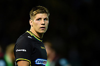 Piers Francis of Northampton Saints. Gallagher Premiership match, between Northampton Saints and Harlequins on September 7, 2018 at Franklin's Gardens in Northampton, England. Photo by: Patrick Khachfe / JMP