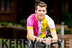 Tomas Mac An tSaor, who is cycling from San Diago to Florida.
