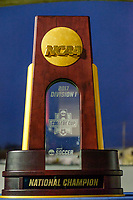 Chester, PA - Friday December 08, 2017: NCAA Men's College Cup Trophy prior to a NCAA Men's College Cup semifinal soccer match between the Stanford Cardinal and the Akron Zips at Talen Energy Stadium.