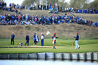 Webb Simpson (Team USA) during the sunday singles at the Ryder Cup, Le Golf National, Paris, France. 30/09/2018.<br /> Picture Phil Inglis / Golffile.ie<br /> <br /> All photo usage must carry mandatory copyright credit (© Golffile | Phil Inglis)