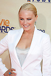 UNIVERSAL CITY, CA. - May 31: Actress Malin Akerman arrives at the 2009 MTV Movie Awards held at the Gibson Amphitheatre on May 31, 2009 in Universal City, California.