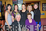 BEST WISHES:  Poppy Cregan, Mitchell's Court, seated centre having a ball with family and friends at her surprise 60th birthday bash held in The Munster Bar, Tralee on Saturday night.   Copyright Kerry's Eye 2008