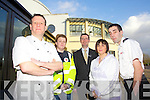 Pictured at the launch of the Cooking Demo with Chef Mark Doe which takes place in Ballyroe Heights Hotel on Thursday 28th February were l-r: Chef Mark Doe, Majella Forde, Mike Ryle (Ballyroe Heights Hotel) Anne-Marie Heaslip (Irish Red Cross) and Jason Wallace (Irish RedCross)..