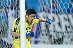 Kawasaki Goalkeeper Jung Sungryong in action during the AFC Champions League 2017 Group G match between Suwon Samsung Bluewings (KOR) vs Kawasaki Frontale (JPN) at the Suwon World Cup Stadium on 25 April 2017, in Suwon, South Korea. Photo by Yu Chun Christopher Wong / Power Sport Images