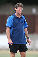 Aveley manager Alan Kimble - Romford vs Aveley - Pre-Season Friendly Match at Mill Field, Aveley FC - 31/07/10 - MANDATORY CREDIT: Gavin Ellis/TGSPHOTO - Self billing applies where appropriate - Tel: 0845 094 6026
