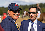 AUG 24: Jeff Bloom and Scott Blaise at Saratoga Racecourse in New York on August 24, 2019. Evers/Eclipse Sportswire/CSM