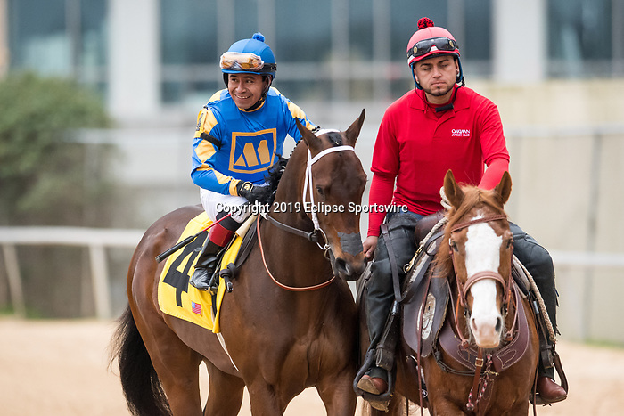 February 17, 2020: Gold Street (4) with jockey Martin Garcia aboard during the Southwest Stakes at Oaklawn Racing Casino Resort in Hot Springs, Arkansas on Feburary 17, 2020. Ted McClenning//Eclipse Sportswire/CSM