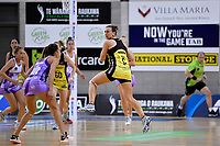 Pulse' Claire Kersten in action during the ANZ Premiership - Pulse v Stars at Te Rauparaha Arena, Porirua, New Zealand on Wednesday 3 April 2019. <br /> Photo by Masanori Udagawa. <br /> www.photowellington.photoshelter.com