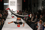 Street Justice Crew performs at the BKLYN ROCKS fashion show at 445 Albee Square in Downtown Brooklyn, on November 09, 2016.