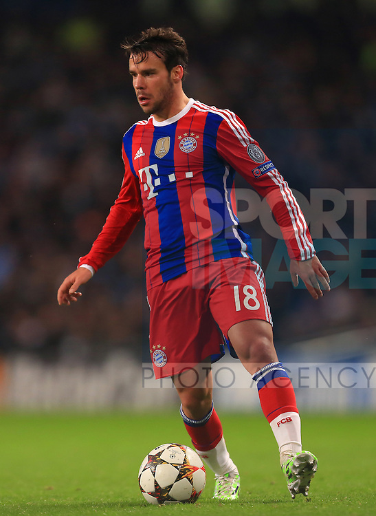 Juan Bernat of Munich - Manchester City vs. Bayern Munich - UEFA Champion's League - Etihad Stadium - Manchester - 25/11/2014 Pic Philip Oldham/Sportimage
