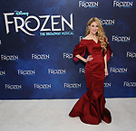 Caissie Levy attends the Broadway Opening Night After Party for 'Frozen' at Terminal 5 on March 22, 2018 in New York City.