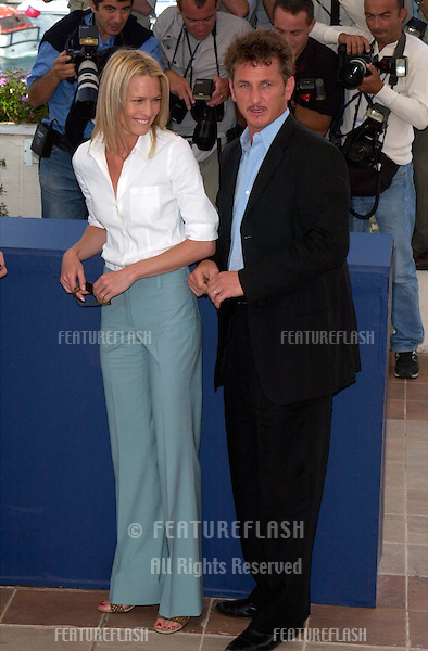 Actor/director SEAN PENN & actress wife ROBIN WRIGHT PENN at the Cannes Film Festival where their movie The Pledge is in competition..15MAY2001.  © Paul Smith/Featureflash