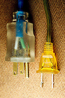 HOUSEHOLD ELECTRICITY<br /> Electrical Plugs<br /> Grounded &amp; ungrounded plugs
