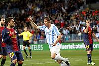 2013.01.25 Copa del Rey Malaga CF VS FC Barcelona