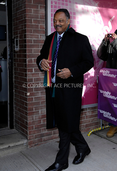 WWW.ACEPIXS.COM . . . . .  ....January 19 2012, New York City....Rev. Jesse Jackson made an appearance at the Wendy Williams Show on January 19 2012....Please byline: CURTIS MEANS - ACE PICTURES.... *** ***..Ace Pictures, Inc:  ..Philip Vaughan (212) 243-8787 or (646) 679 0430..e-mail: info@acepixs.com..web: http://www.acepixs.com