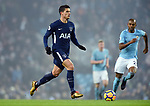 Erik Lamela of Tottenham Hotspur during the premier league match at the Etihad Stadium, Manchester. Picture date 16th December 2017. Picture credit should read: Robin ParkerSportimage