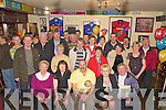 Dan Joe Aherne pictured with his wife Eileen, family and friends as he celebrated his 50th birthday in Jades bar, Killarney on Friday night...   Copyright Kerry's Eye 2008