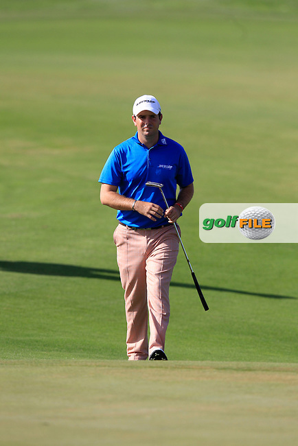 Thomas Aiken (RSA) walks onto the 17th green during Thursday's Round 1 of the Portugal Masters at the Oceanico Victoria Golf Course, Vilamoura, Portugal 10th October 2012 (Photo Eoin Clarke/www.golffile.ie)