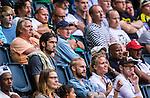 Solna 2014-07-12 Fotboll Allsvenskan AIK - Kalmar FF :  <br /> Bojan Djordjic p&aring; l&auml;ktaren i Friends Arena under matchen mellan AIK och Kalmar<br /> (Foto: Kenta J&ouml;nsson) Nyckelord:  AIK Gnaget Friends Arena Kalmar KFF supporter fans publik supporters portr&auml;tt portrait