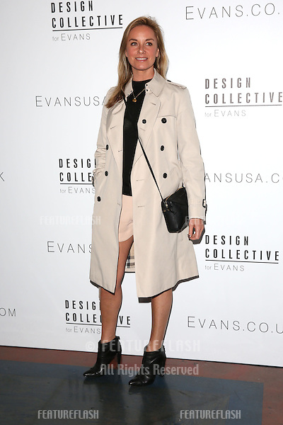 Tamzin Outhwaite arriving for LFW s/s 2015 - Design Collective for Evans, London. 16/09/2014 Picture by: James Smith / Featureflash