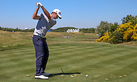 All eyes and hopes on Gary Stal (FRA) this week, during the preview days of the 2015 Alstom Open de France, played at Le Golf National, Saint-Quentin-En-Yvelines, Paris, France. /30/06/2015/. Picture: Golffile | David Lloyd<br /> <br /> All photos usage must carry mandatory copyright credit (&copy; Golffile | David Lloyd)