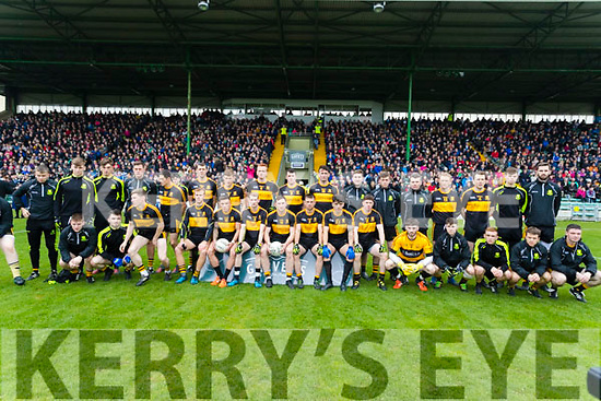 The Dr Crokes Team before the Senior County Football Final in Austin Stack Park on Sunday