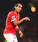 Radamel Falcao of Manchester United - Manchester United vs. Burnley - Barclay's Premier League - Old Trafford - Manchester - 11/02/2015 Pic Philip Oldham/Sportimage
