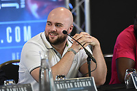 Nathan Gorman during a Press Conference at Intercontinental Hotel O2 on 5th June 2019