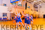 Oaf Crowley Team Garveys in action against Claire Kelly Marble City Hawks at Mounthawk on Saturday night.