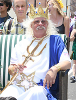 NEW YORK, NY - JUNE 22: Arlo Guthrie, Nora Guthrie and revelers attend the 2019 Mermaid Parade on June 22, 2019 in Coney Island in Brooklyn, New York.   Credit: George Napolitano/MediaPunch