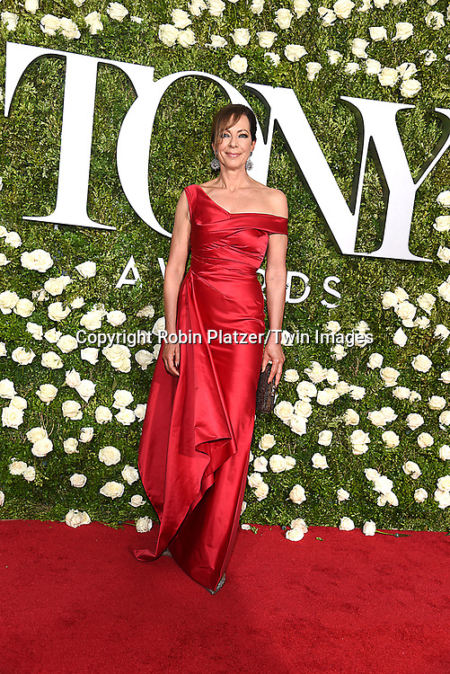 Allison Janney attends the 71st Annual  Tony Awards on June 11, 2017 at Radio City Music Hall in New York, New York, USA.<br /> <br /> photo by Robin Platzer/Twin Images<br />  <br /> phone number 212-935-0770