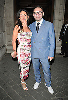 Katrina Sedley and Jonathan Shalit at the Syco summer party, Victoria and Albert Museum, Cromwell Road, London, England, UK, on Thursday 04th July 2019.<br /> CAP/CAN<br /> ©CAN/Capital Pictures