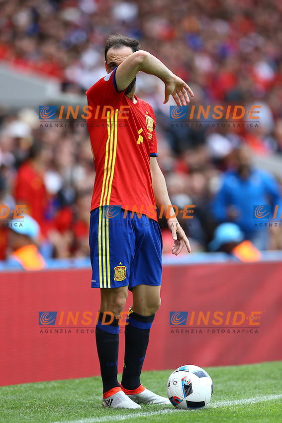 Juanfran Spagna<br /> Toulouse 13-06-2016 Stade Municipal Footballl Euro2016 Spain - Czech Republic  / Spagna - Repubblica Ceca Group Stage Group D. Foto Matteo Ciambelli / Insidefoto