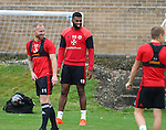 Ethan Ebanks-Landell of Sheffield Utd  during the Sheffield Utd training session at the Shirebrook training complex, Sheffield. Picture date: 2nd September 2016. Picture Simon Bellis/Sportimage