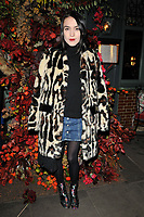 Ella Catliff at the Ivy Chelsea Garden's Winter Garden launch party, The Ivy Chelsea Garden, King's Road, London, England, UK, on Sunday 05 November 2017.<br /> CAP/CAN<br /> &copy;CAN/Capital Pictures