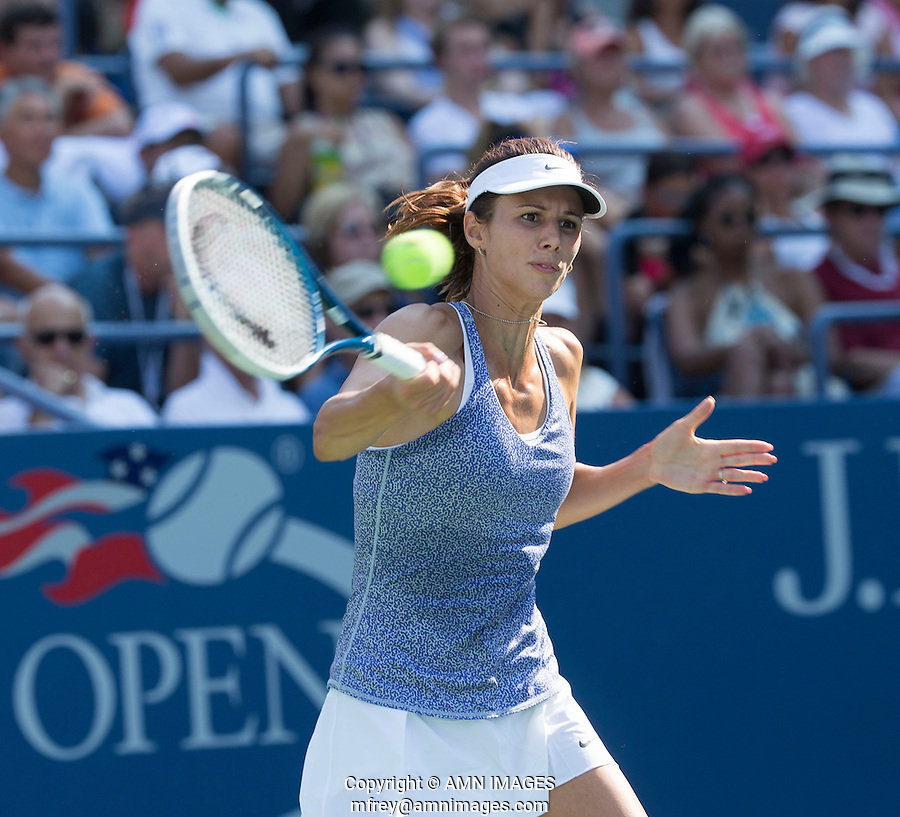 TSVETANA PIRONKOVA (BUL)<br /> The US Open Tennis Championships 2014 - USTA Billie Jean King National Tennis Centre -  Flushing - New York - USA -   ATP - ITF -WTA  2014  - Grand Slam - USA  27th August 2014. <br /> <br /> &copy; AMN IMAGES