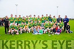Kilmoyley winners of the County Intermediate Hurling Championship final at Abbeydorney GAA Ground on Sunday Dr. Crokes V Kilmoyley