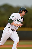 Dartmouth Big Green infielder Joe Purritano (3) during a game against the Ball State Cardinals on March 7, 2015 at North Charlotte Regional Park in Port Charlotte, Florida.  Ball State defeated Dartmouth 7-4.  (Mike Janes/Four Seam Images)