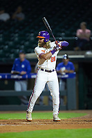 Reed Rohlman (26) of the Clemson Tigers at bat against the Duke Blue Devils in Game Three of the 2017 ACC Baseball Championship at Louisville Slugger Field on May 23, 2017 in Louisville, Kentucky. The Blue Devils defeated the Tigers 6-3. (Brian Westerholt/Four Seam Images)