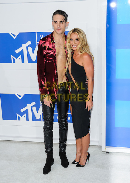 28 August 2016 - New York, New York - G Eazy, Britney Spears.  2016 MTV Video Music Awards at Madison Square Garden. <br /> CAP/ADM/MSA<br /> &copy;MSA/ADM/Capital Pictures