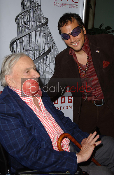 Gore Vidal and Rob Schneider<br />at &quot;Russian Nights&quot; Festival Closing Night Gala. Pacific Design Center, Los Angeles, CA. 04-08-06<br />Dave Edwards/DailyCeleb.com 818-249-4998