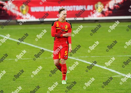 2013-05-26 / Voetbal / seizoen 2012-2013 / België U19 / Alexander Corryn..Foto: mpics