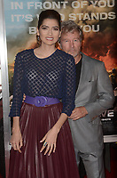 WESTWARD, CA - OCTOBER 8: Blanca Blanco, John Savage at the Only The Brave World Premiere at the Village Theater in Westwood, California on October 8, 2017. Credit: David Edwards/MediaPunch