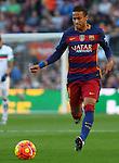 09.01.2016 Camp Nou, Barcelona, Spain. La Liga day 19 march between FC Barcelona and Granada. Neymar run with the ball
