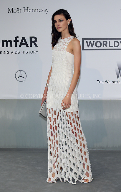 ACEPIXS.COM<br /> <br /> May 21 2014, Cannes<br /> <br /> Jacquelyn Jablonski arriving at amfAR's 21st Cinema Against AIDS Gala during the 67th Cannes International Film Festival at Hotel du Cap-Eden-Roc on May 21 2014 in Cap d'Antibes, France<br /> <br /> By Line: Famous/ACE Pictures<br /> <br /> ACE Pictures, Inc.<br /> www.acepixs.com<br /> Email: info@acepixs.com<br /> Tel: 646 769 0430
