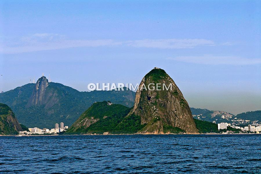 Montanhas Pão de Açucar e Corcovado. Rio de Janeiro. 2007. Foto de Ricardo Azoury.
