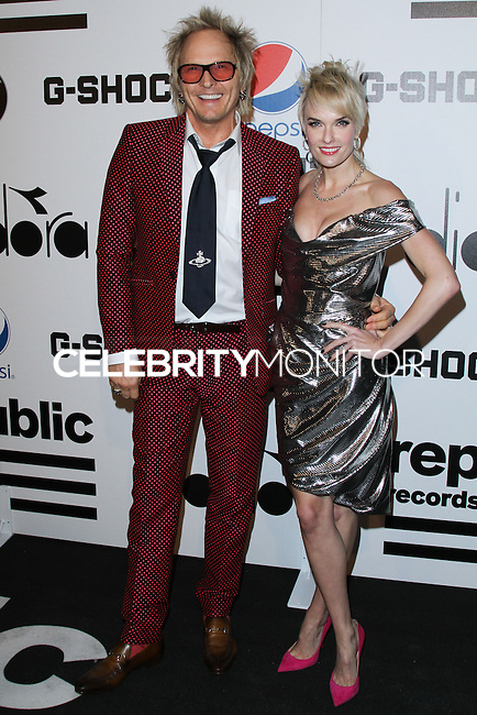 WEST HOLLYWOOD, CA - JANUARY 26: Matt Sorum at the Republic Records 2014 GRAMMY Awards Party held at 1 OAK on January 26, 2014 in West Hollywood, California. (Photo by David Acosta/Celebrity Monitor)