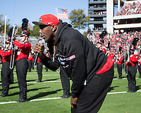 Athens, GA - November 19, 2016: University of Georgia Bulldogs play the Louisiana Lafayette Ragin' Cajuns at Sanford Stadium.  Final score Georgia 35, Louisiana Lafayette 21.